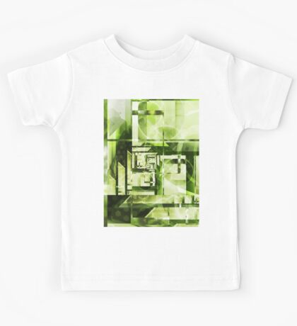 Lime Labyrinth Kids Tee