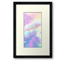 Painting the Sky with Clouds Framed Print