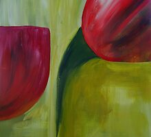 Tulips abstract by julie101