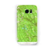 Massachusetts  USGS Historical Topo Map MA Becket 349996 1958 24000 Samsung Galaxy Case/Skin
