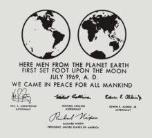 Apollo Plaque by TGIGreeny