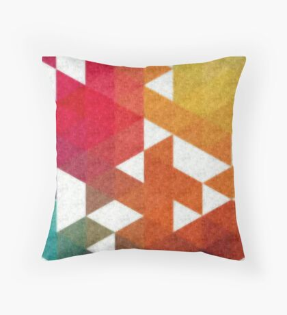 Triangle Based Throw Pillow