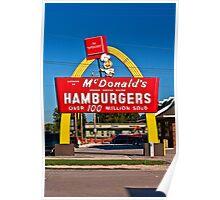Hambugers $ .15 Poster