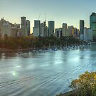 Brisbane by Lawrie McConnell