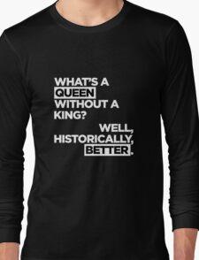 QUEEN. Long Sleeve T-Shirt