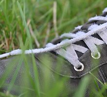 Nike Trainer In Lush Green Grass by Smithy701
