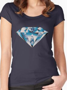 Thief - Diamond Women's Fitted Scoop T-Shirt