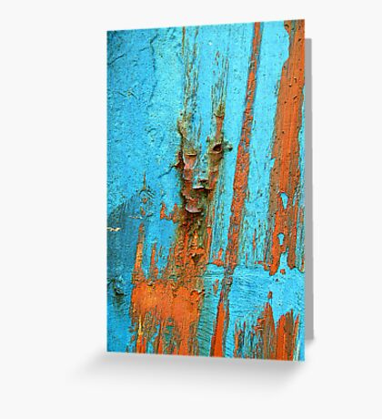 Did that rust just wink at me? Greeting Card