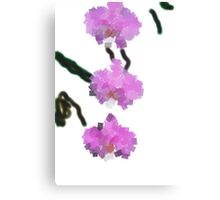 fLOWERS of the cool1 Canvas Print