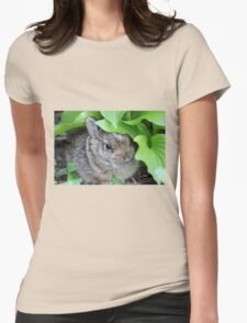 Baby Rabbit Womens Fitted T-Shirt
