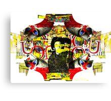Collage Circus Canvas Print