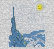 Van Gogh on Prozac One Piece - Short Sleeve