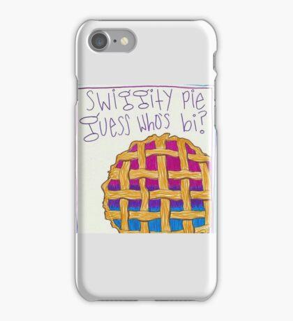 guess who's bi iPhone Case/Skin