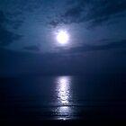 Jacksonville Beach at Night by leystan