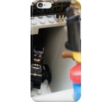 How did you find out about the new Batcave? iPhone Case/Skin
