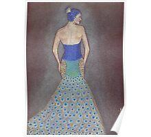 Peacock Fashion Inspiration Poster