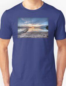 Sunset on Sturgeon Bay Unisex T-Shirt