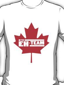Eh team canada maple leaf geek funny nerd T-Shirt