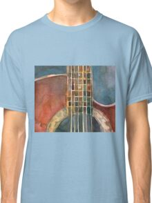 Ovation Acoustic Red Guitar Classic T-Shirt