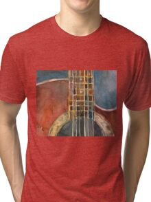 Ovation Acoustic Red Guitar Tri-blend T-Shirt