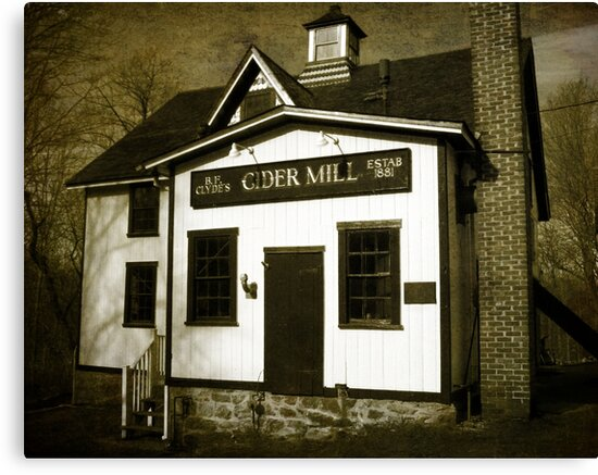 B. F. Clyde's Old Cider Mill Vintage by Debbie Robbins