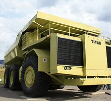 the worlds largest truck-Titan 33-19 by David M. Bull