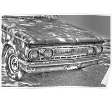 1962 Mercury front-side view Poster