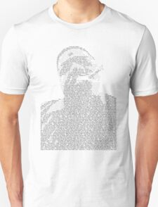 Biggie Lyric Portrait T-Shirt