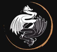 Yin Yang Dragons by jennyabean