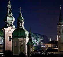 Salzburg, Austria skyline at night by Eros Fiacconi (Sooboy)