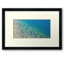 Lago Azul Framed Print