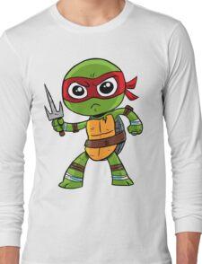 He's cool, but rude. Long Sleeve T-Shirt