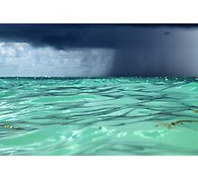 Stormy Ocean view  Photographic Print