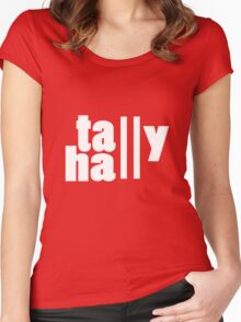 For lack of a tally hall geek funny nerd Women's Fitted Scoop T-Shirt