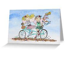 Bike Buddies Greeting Card