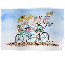 Bike Buddies Poster