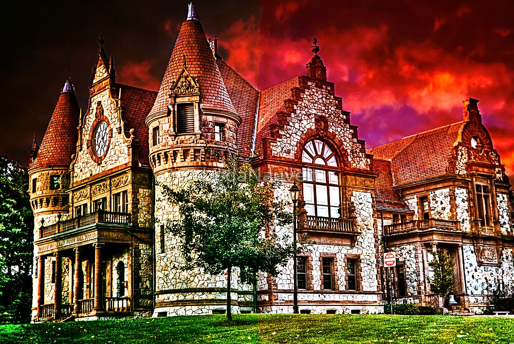 Wellesley Town Hall, MA by LudaNayvelt