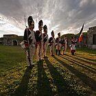 As the sun sets by Mel Brackstone.com