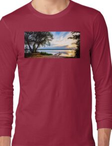 Fishing by the Pier Long Sleeve T-Shirt