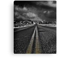 Dark Highway Canvas Print
