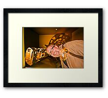 The Fading Person Framed Print