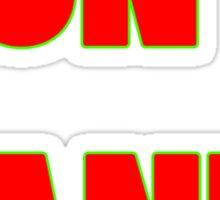 Dont panic geek funny nerd Sticker
