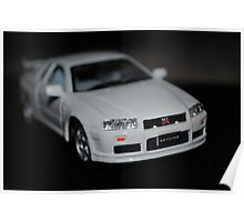 toy car - skyline Poster