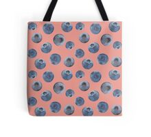 Blueberry pattern Tote Bag