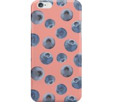 Blueberry pattern iPhone Case/Skin