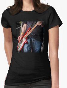 Rickenbacker bass Womens Fitted T-Shirt