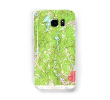 Massachusetts  USGS Historical Topo Map MA Milford 350291 1953 24000 Samsung Galaxy Case/Skin