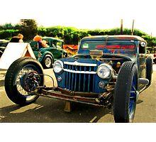 Jeep Rod Photographic Print