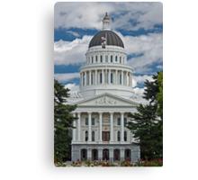 California State Capitol Building Sacramento Canvas Print