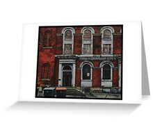 BRS Building, Lady Lane, Leeds Greeting Card